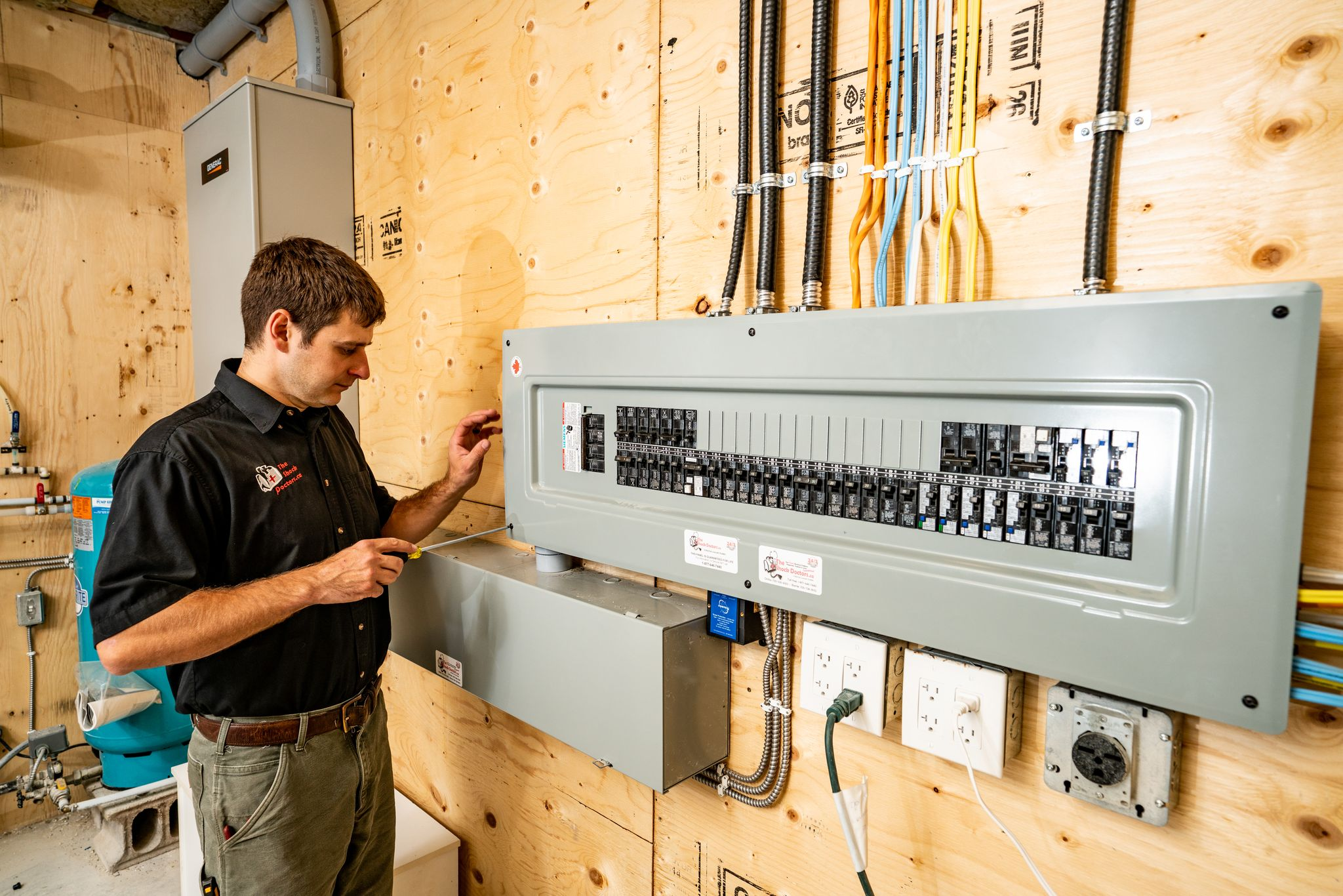 The Shock Doctors Guaranteed for Life Electrical Panels