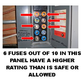 Fuse Panels on knob and tube wiring removal