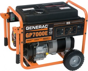 7500Watt Generac GP - general purpose portable power