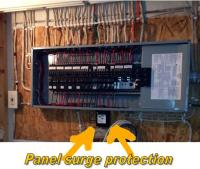Surge protection system   Panel surge protection
