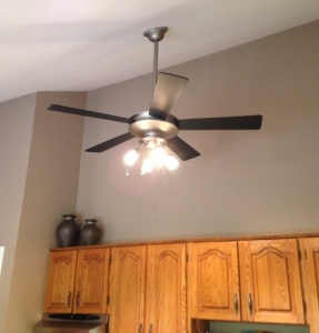 Electricity Savings - Install a Ceiling Fan