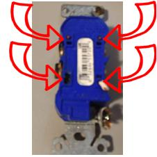 Troubleshooting receptacles