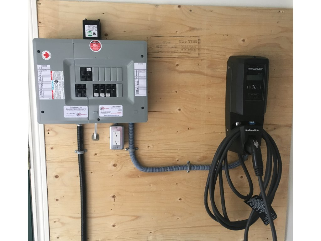 Electric Vehicle Charging Stations Or Ev Home Wiring For An Car